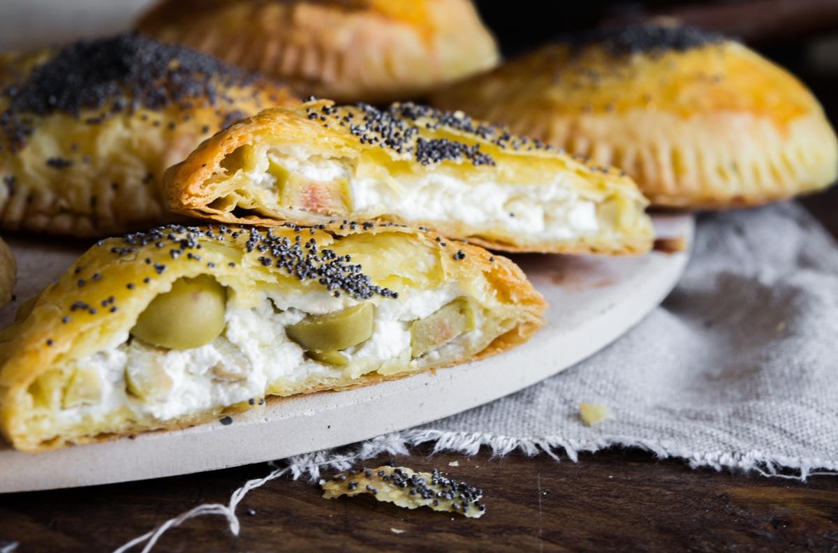 Τυροπιτάκια με Τυρί Κρέμα Συνταγή