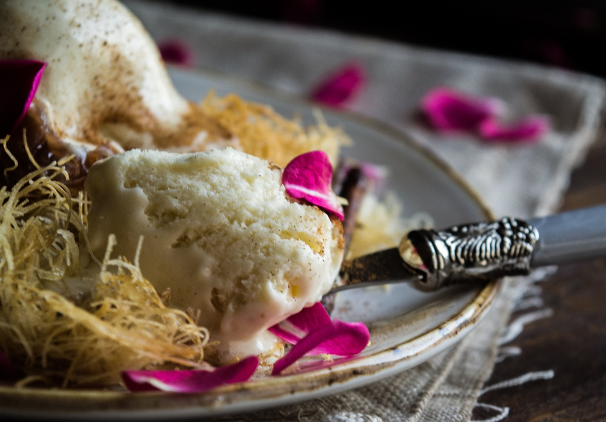 Συνταγή για Μαστιχωτό Παγωτό Καϊμάκι