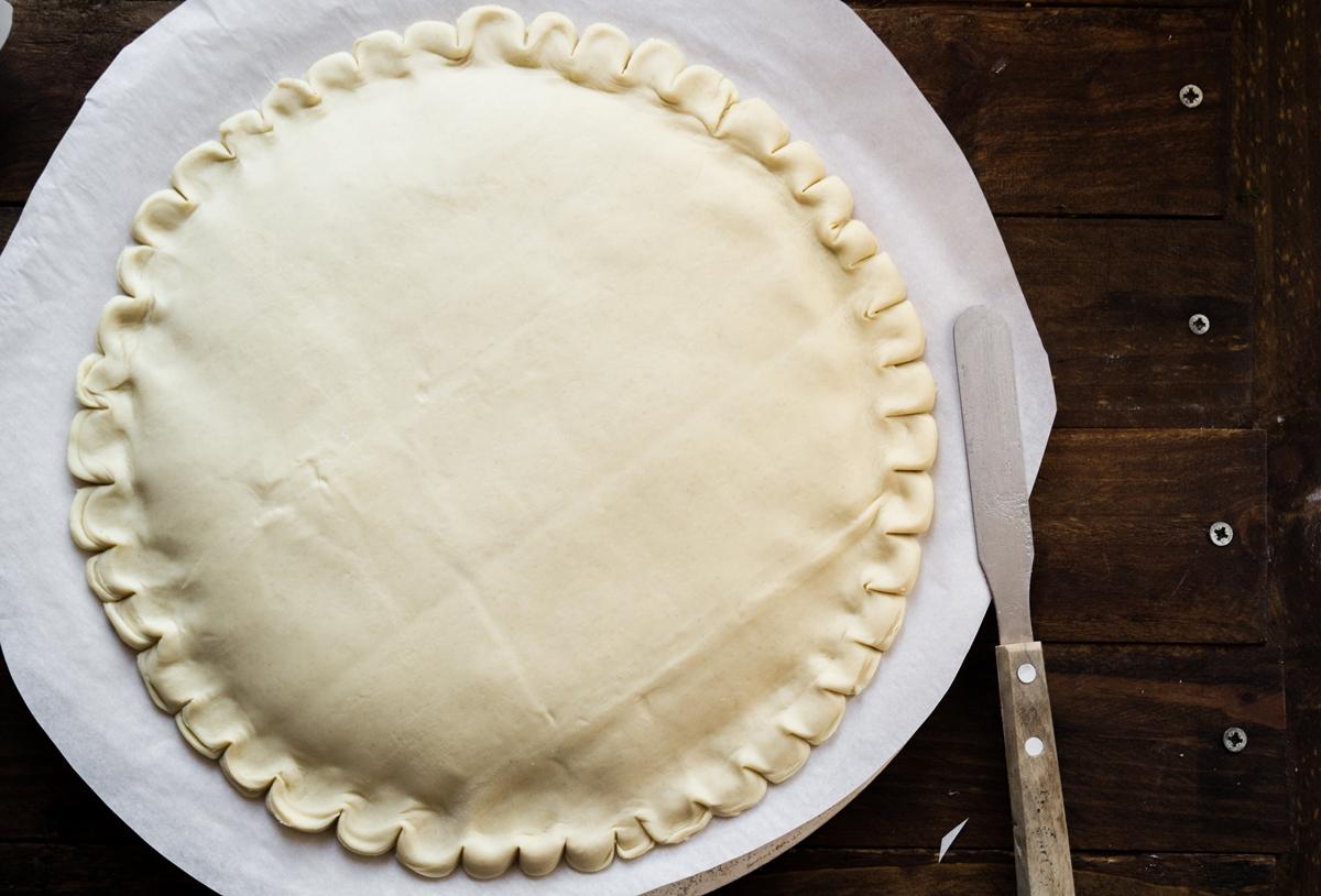 Συνταγή για πίτα με σφολιάτα