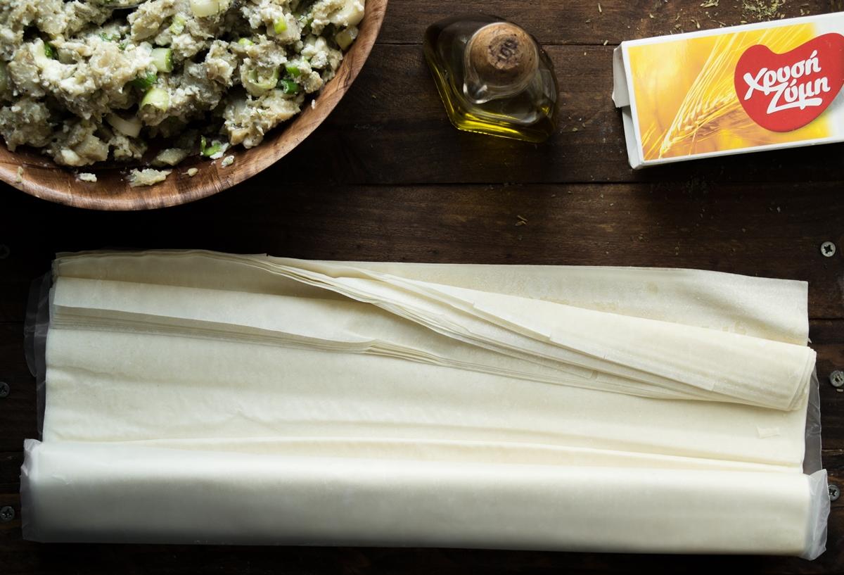 Χρυσή Ζύμη Φύλλο Κρούστας για Πίτες Συνταγή