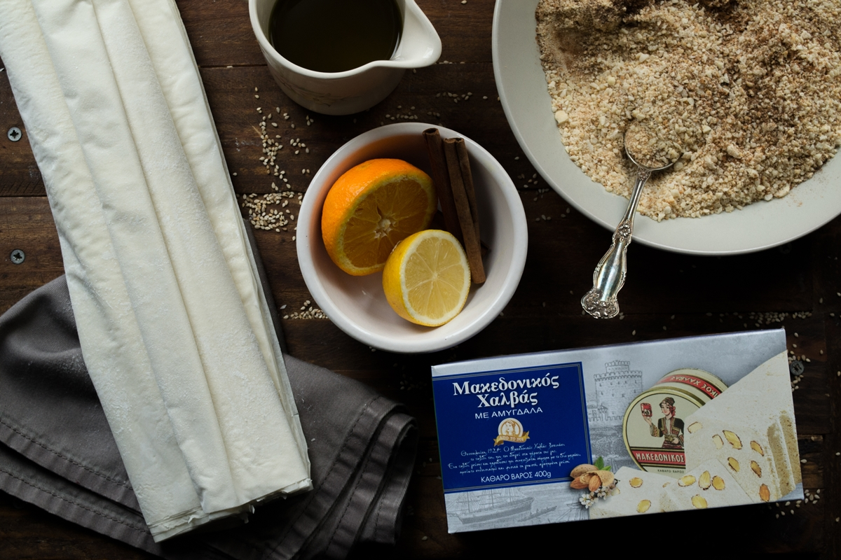 Μακεδονικός Χαλβάς Γλυκά Συνταγές