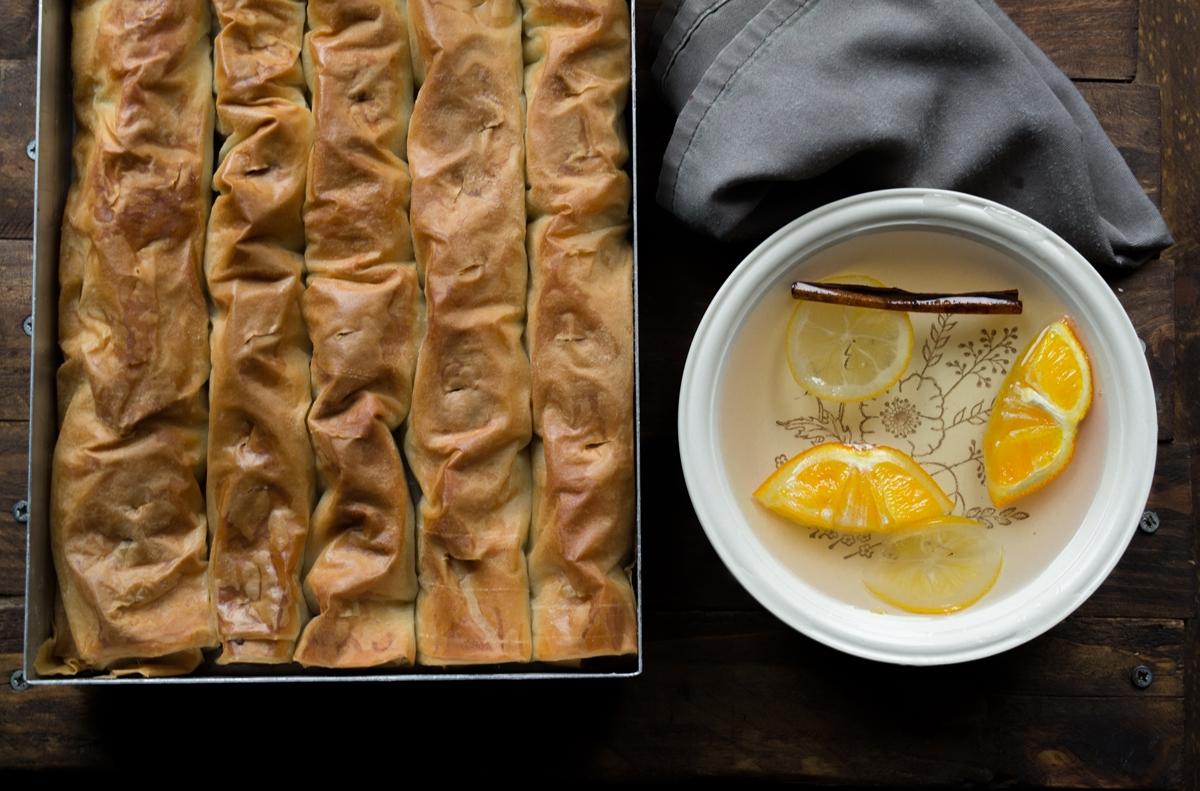 Μπακλαβαδάκια με Αμύγδαλο Συνταγή