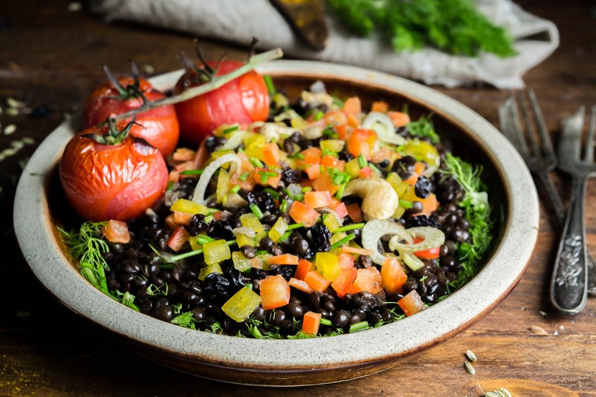 Νηστίσιμες Σαλάτες Συνταγές