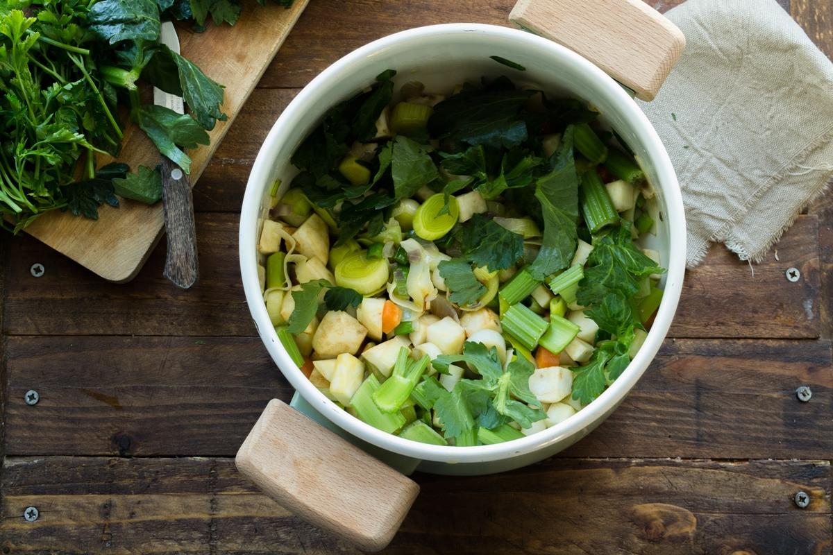 Νηστίσιμες Συνταγές με Λαχανικά