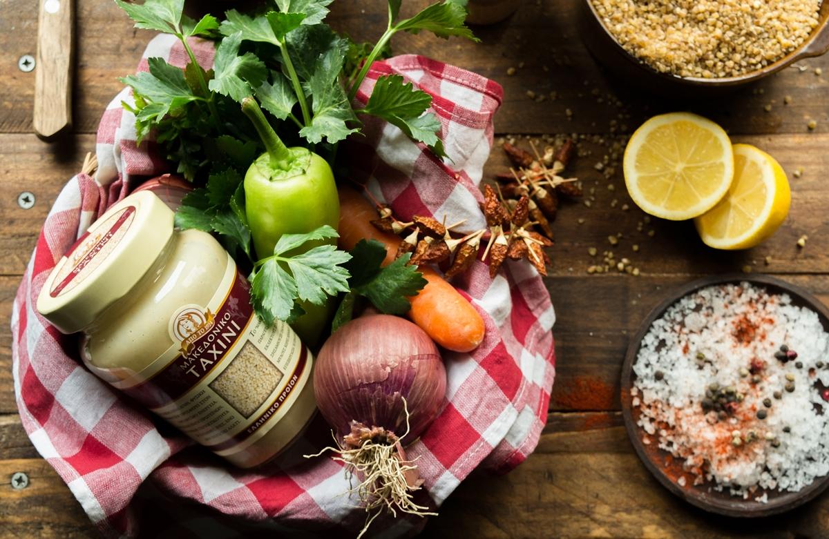 Νηστίσιμες Συνταγές Μακεδονικό Ταχίνι