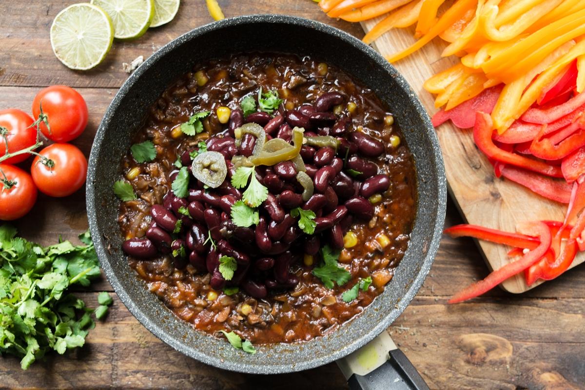 Νηστίσιμο Vegan Τσίλι κον Κάρνε Συνταγές