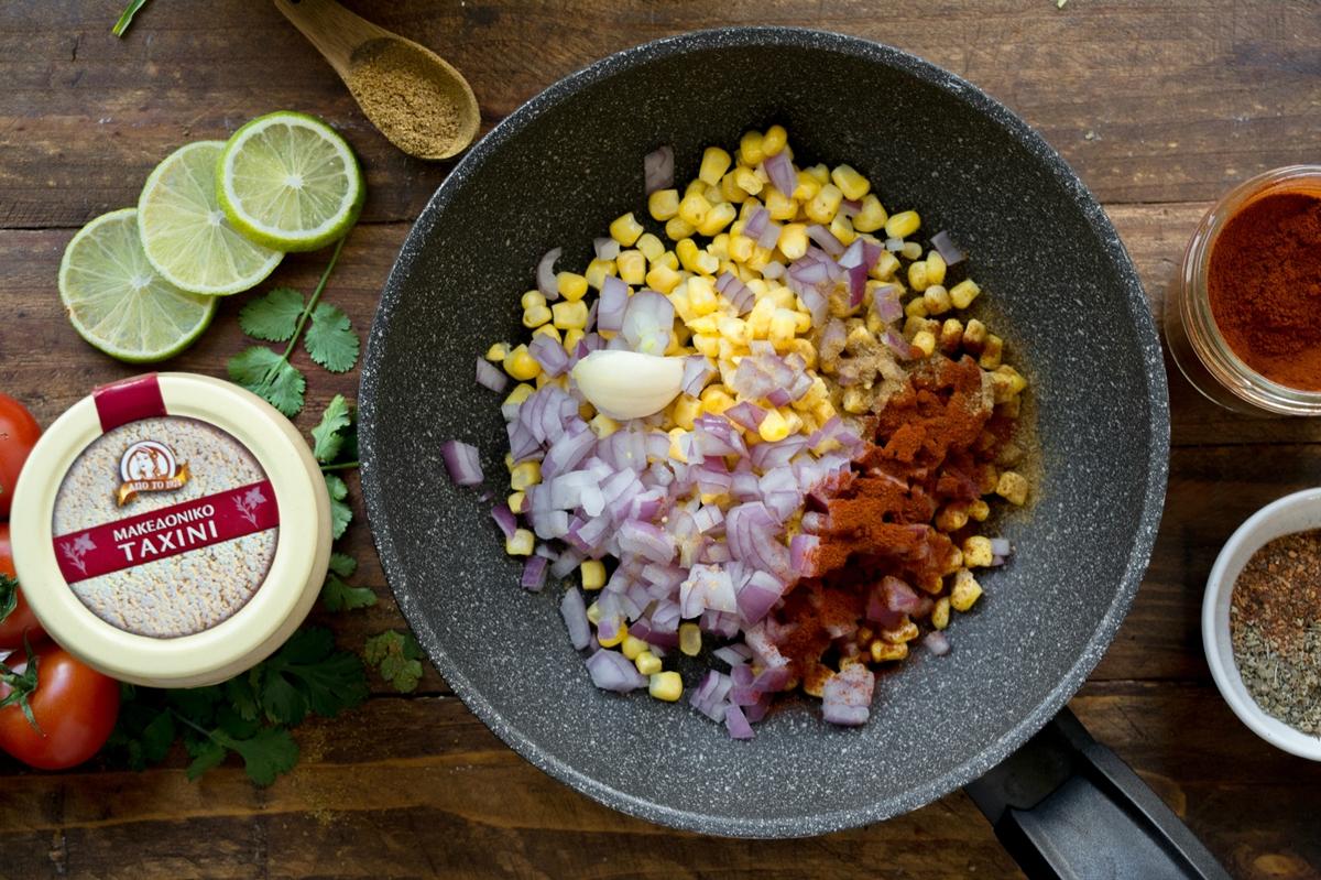 Σάλτσα Καλαμποκιού Συνταγή