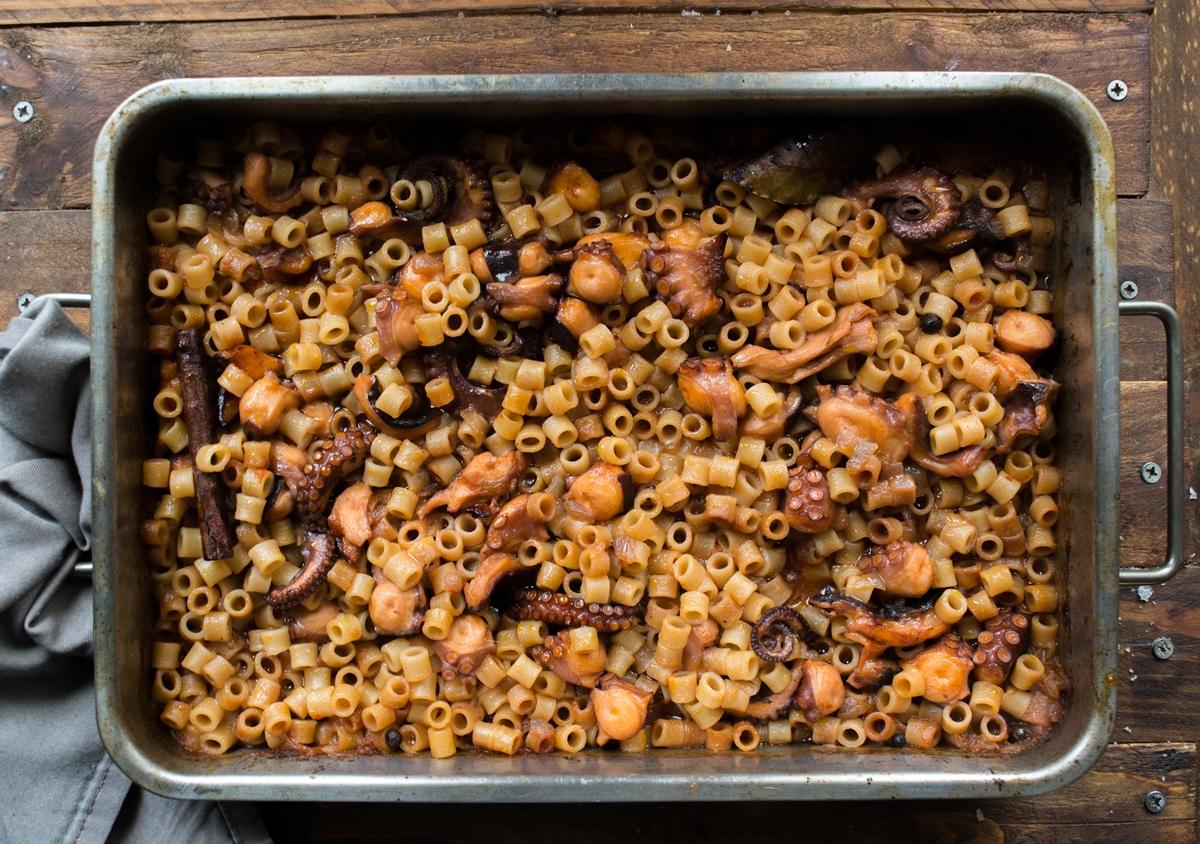 Σαρακοστιανές Συνταγές Θαλασσινά
