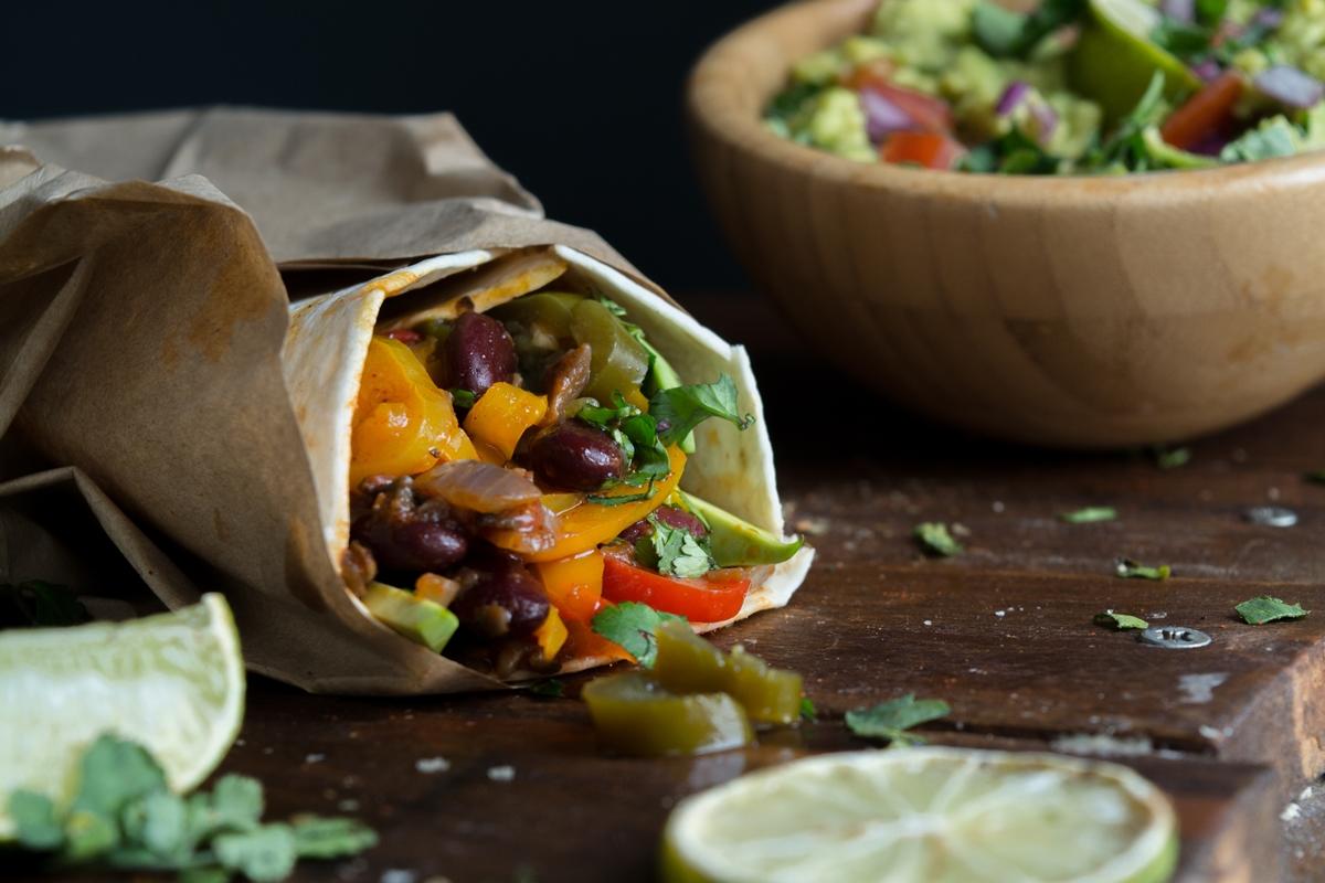 Mexican Veggie Burrito Recipe
