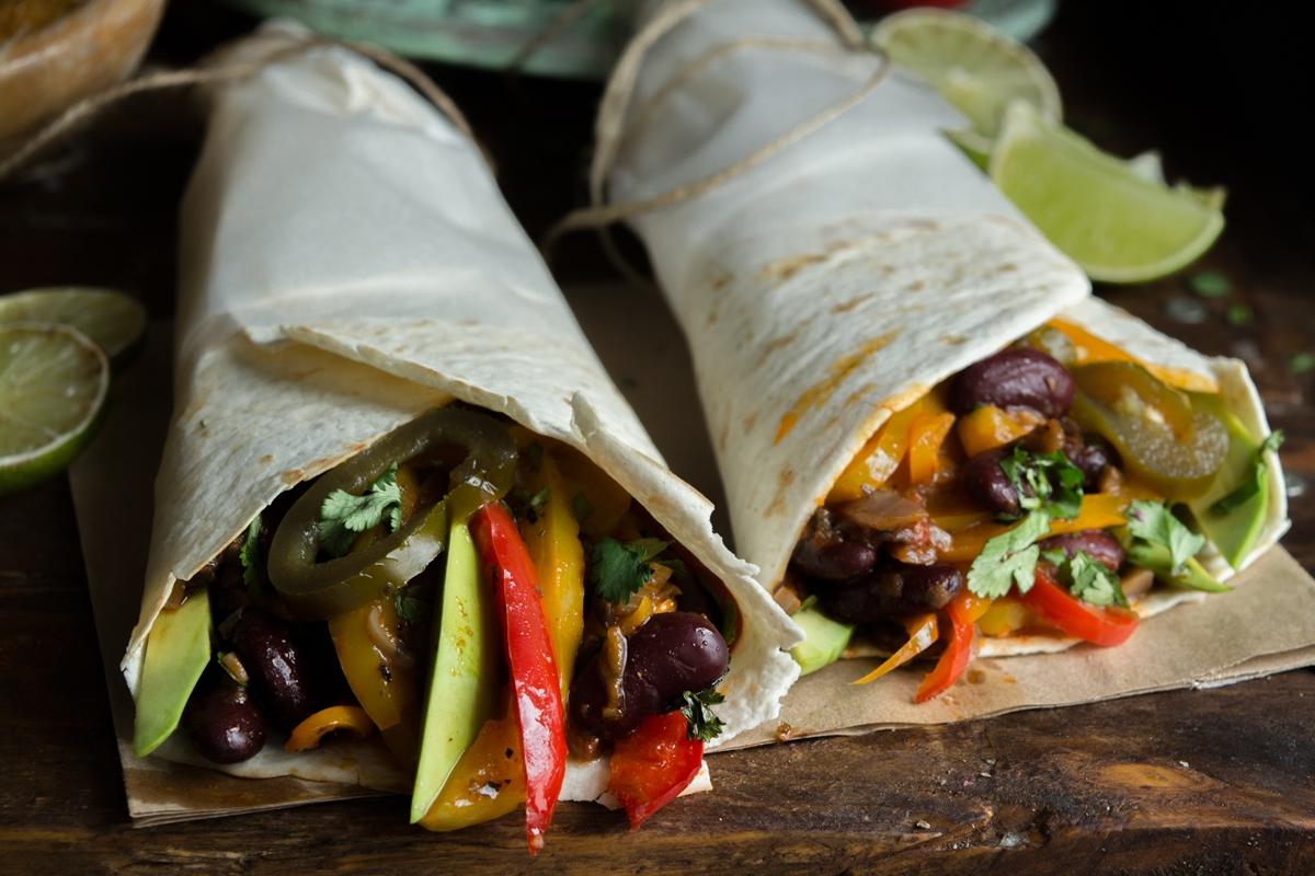Vegan Συνταγές Burrito