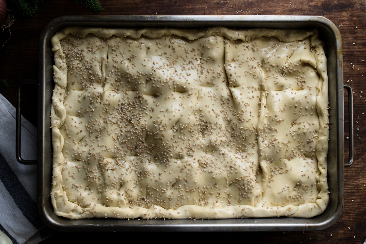 Τυρόπιτα με Φύλλο Κουρού Συνταγές