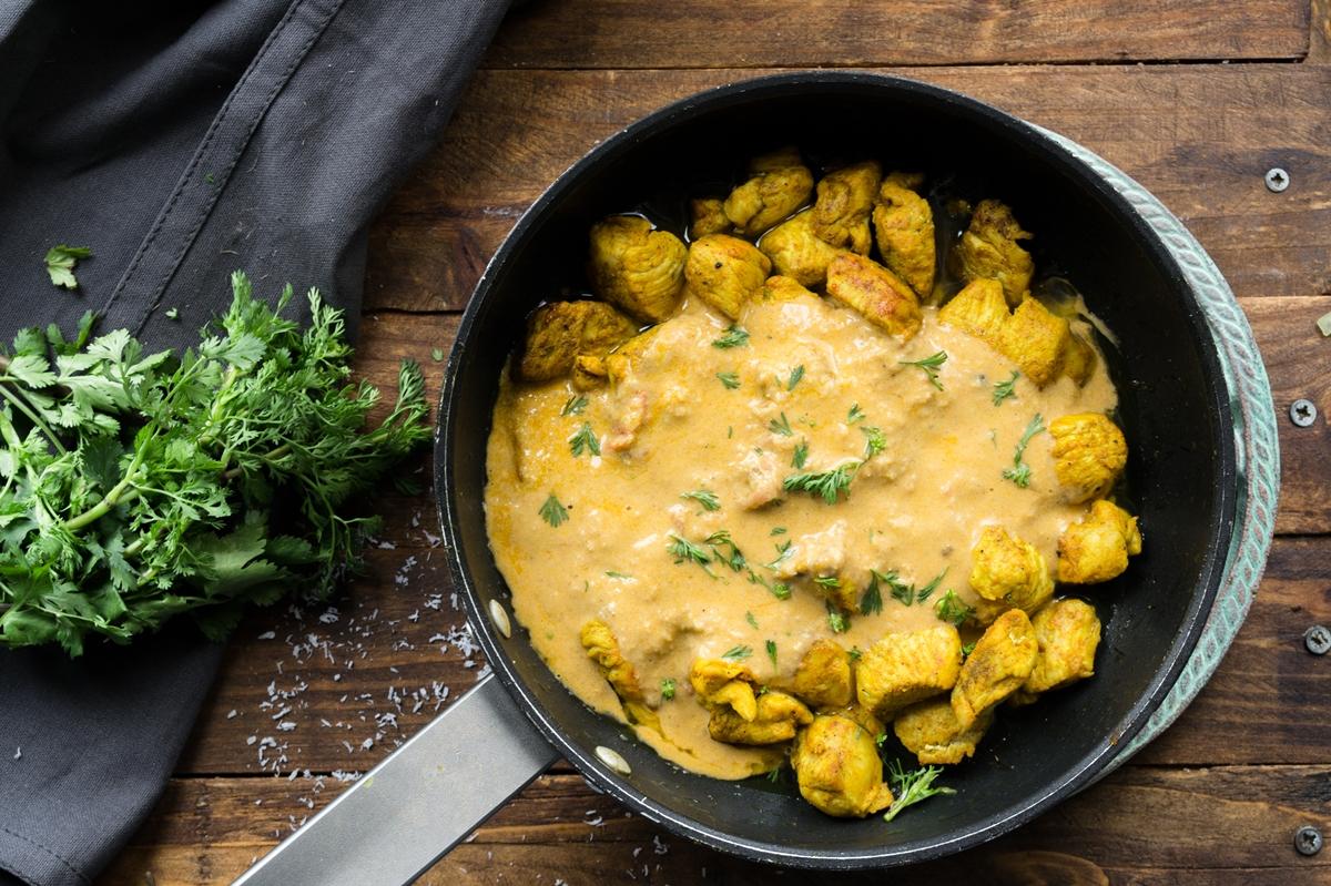 Κάρυ με Κοτόπουλο Συνταγές