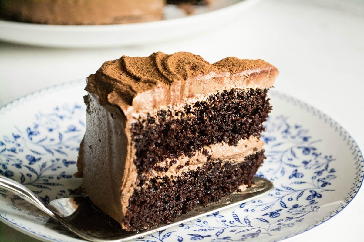 Κέικ με Σοκολάτα και Μαύρη Μπύρα