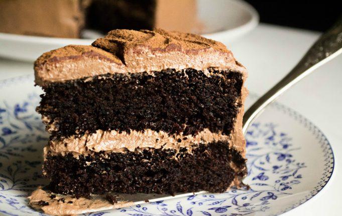 Σοκολατένιο Κέικ με Μαύρη Μπύρα