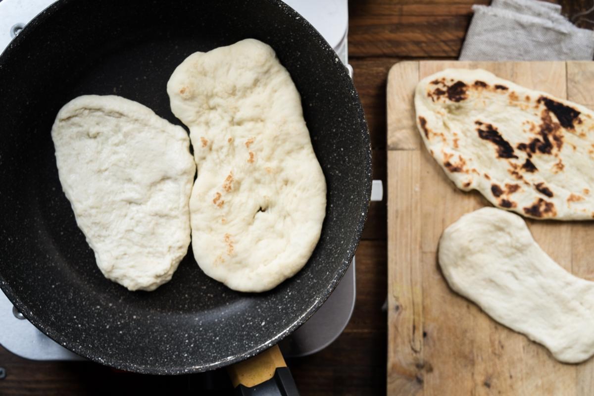 Σπιτικά Ινδικά Πιτάκια Νααν Συνταγή