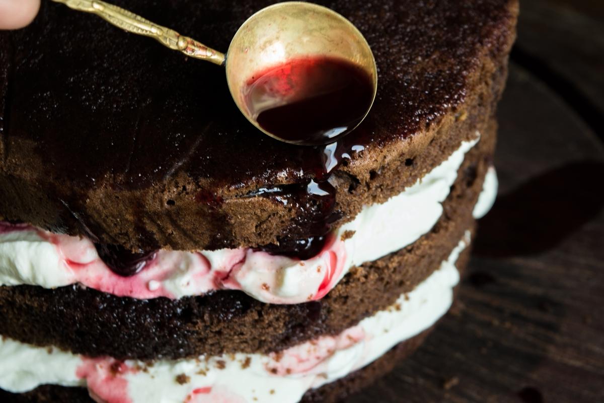 Συνταγή Κέικ με Κεράσια Βύσσινα