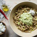 Ζυμαρικά Ολικής Άλεσης με Σάλτσα Αβοκάντο Συνταγή
