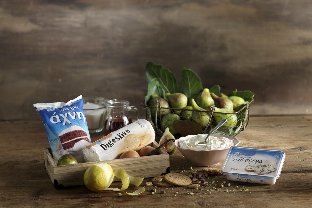 Cheesecake Φούρνο Υλικά και Συνταγές