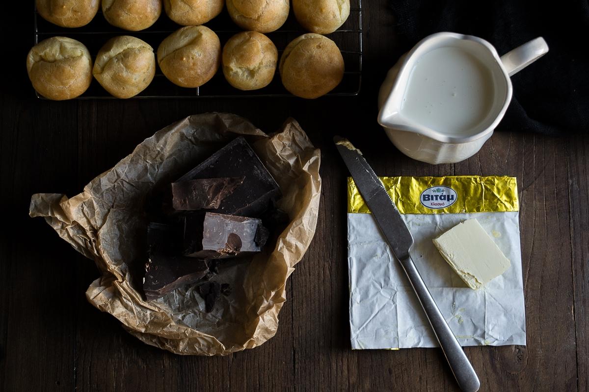 Γλάσο σοκολάτας Συνταγές