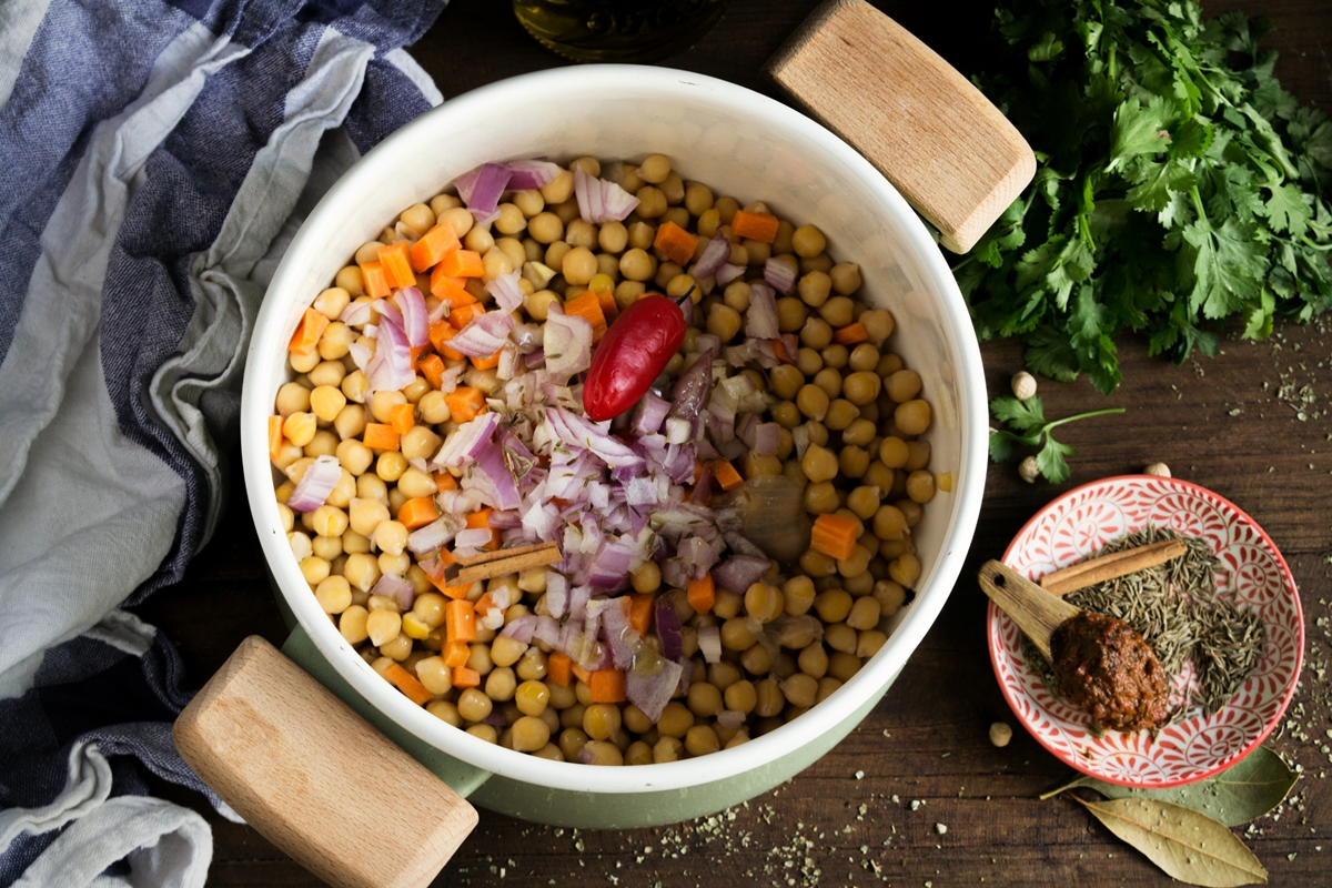 Ρεβύθια Σούπα Συνταγή