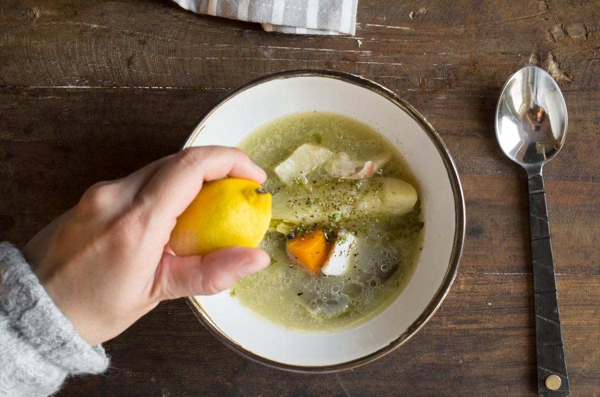 Ψαρόσουπα Συνταγή