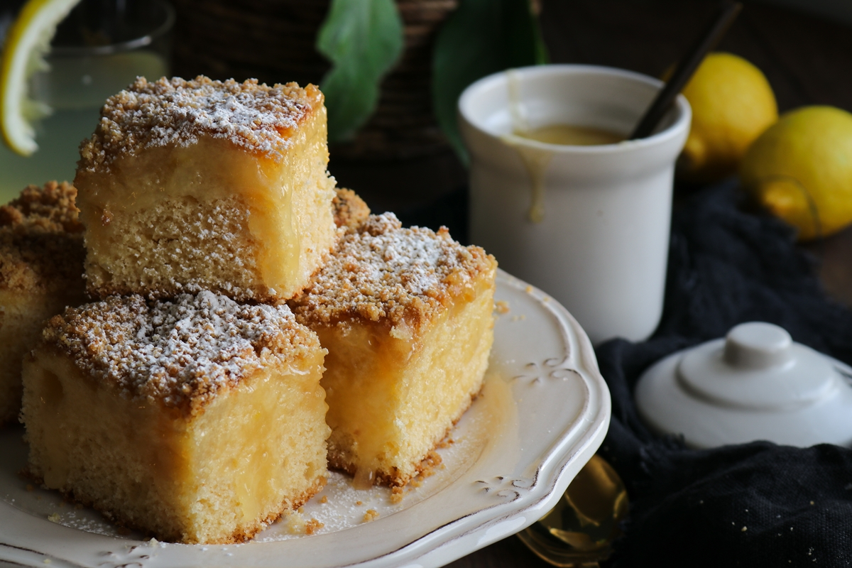 Κέικ Βανίλια Λεμόνι Συνταγή