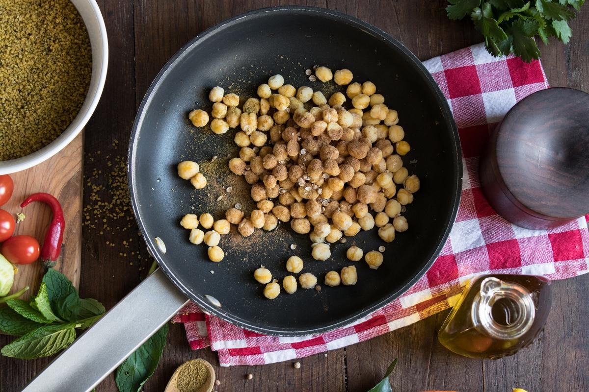 Πικάντικα ρεβύθια συνταγή