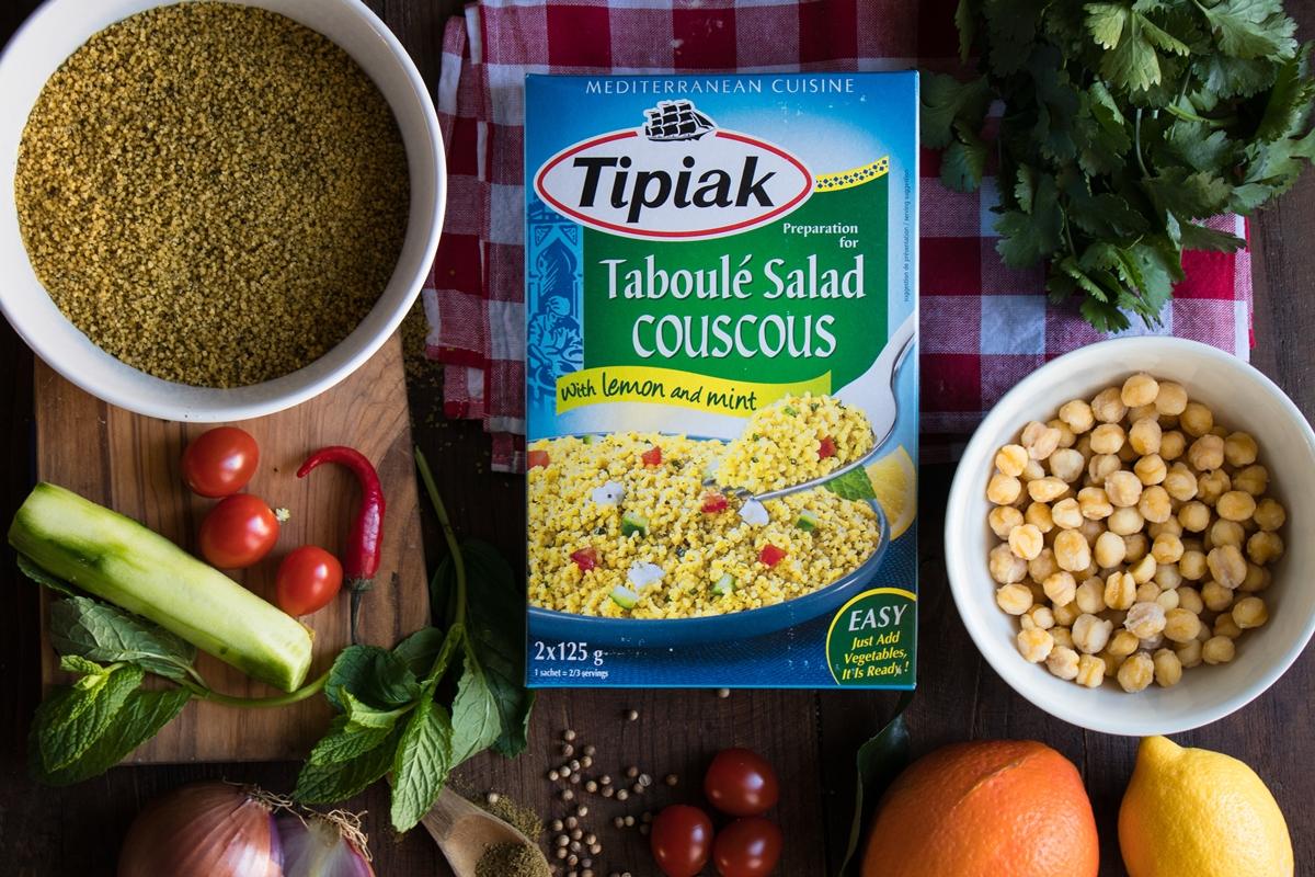 Σαλάτα με κους κους συνταγές