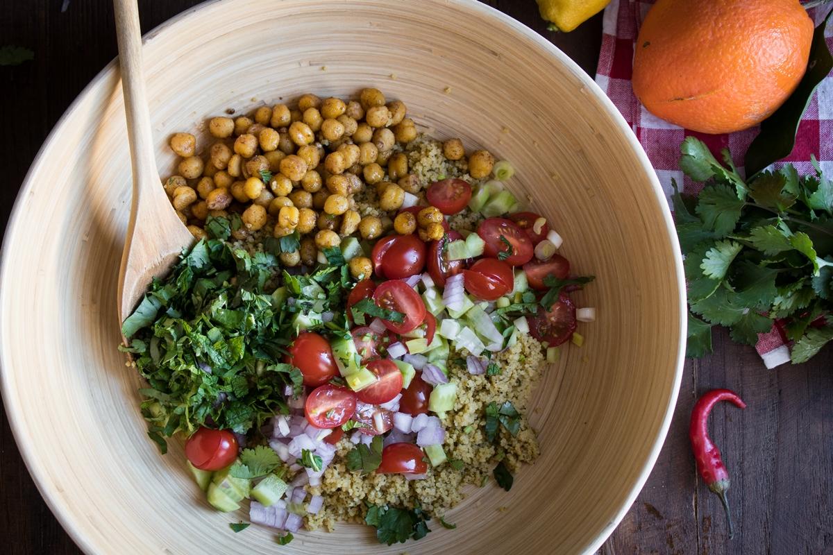 Συνταγές για tabbouleh