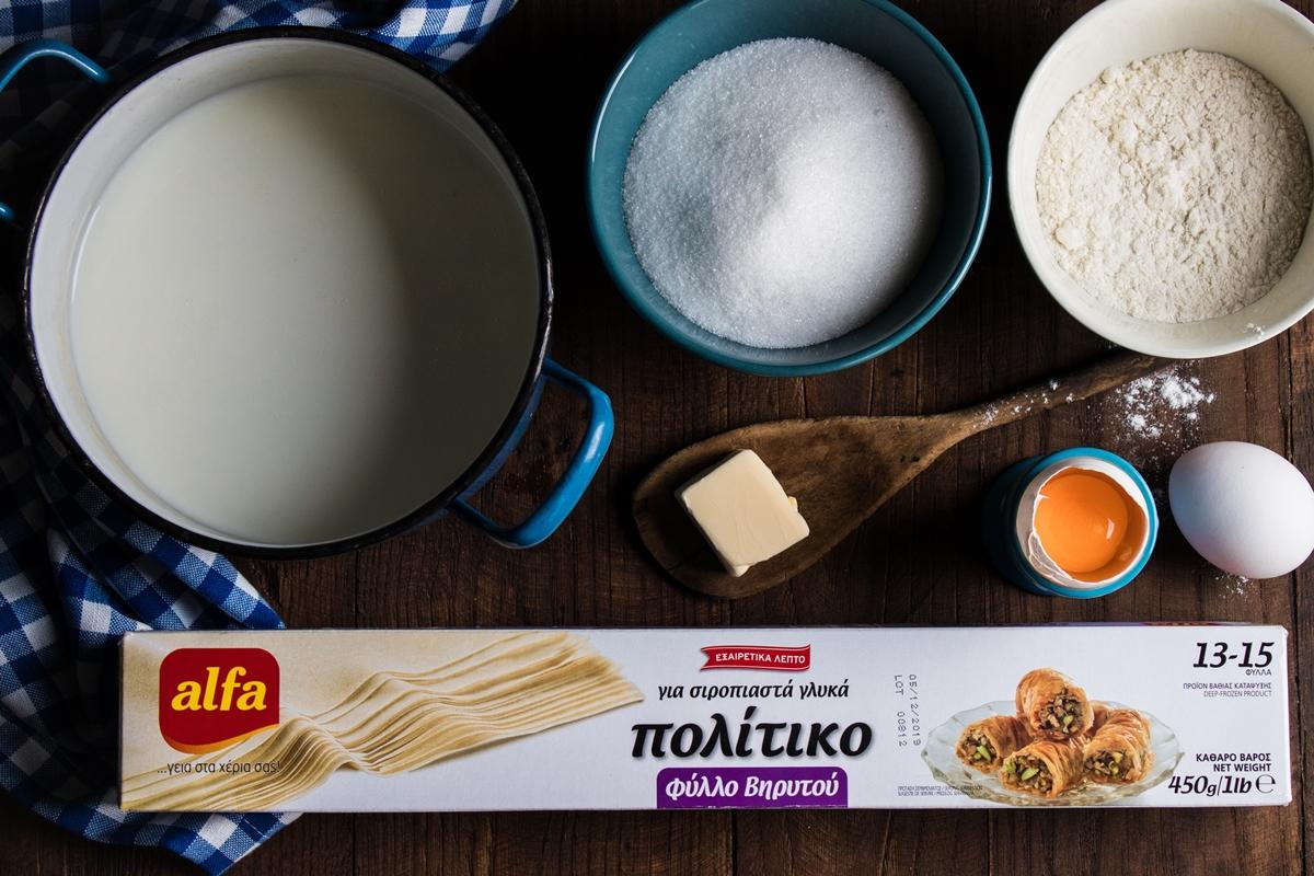 Συνταγές με Φύλλο Alfa