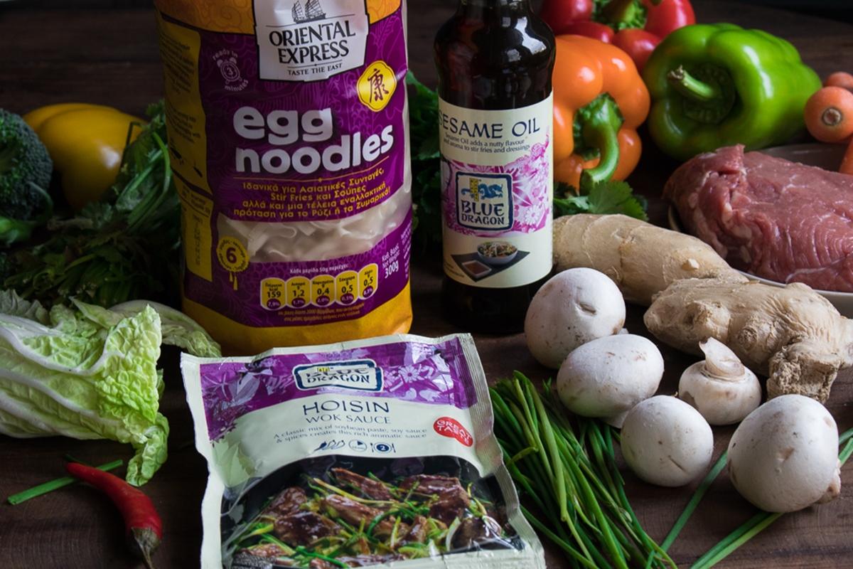 Συνταγές με Noodles Αυγού