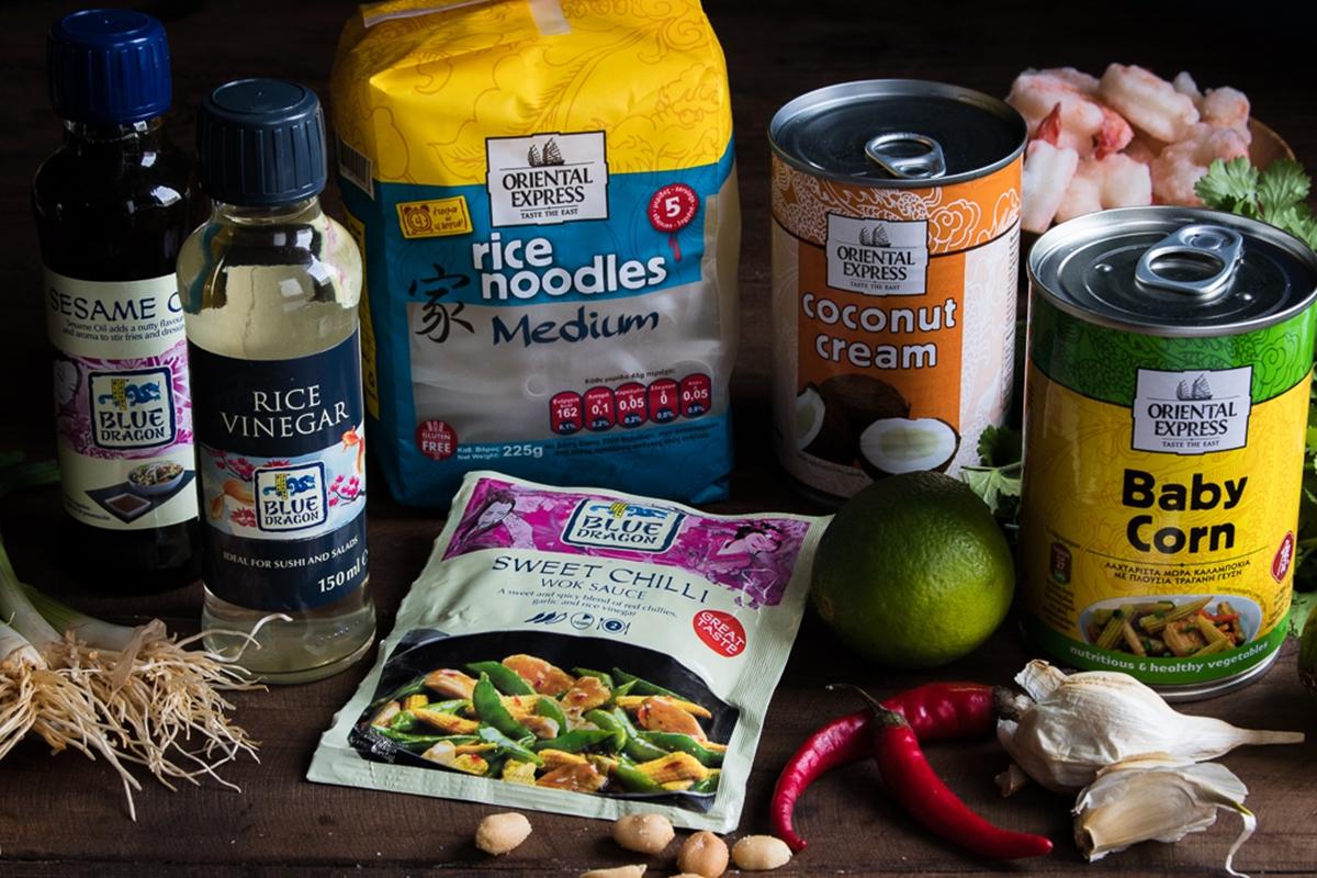 Συνταγή για Σαλάτα με Noodles Ρυζιού