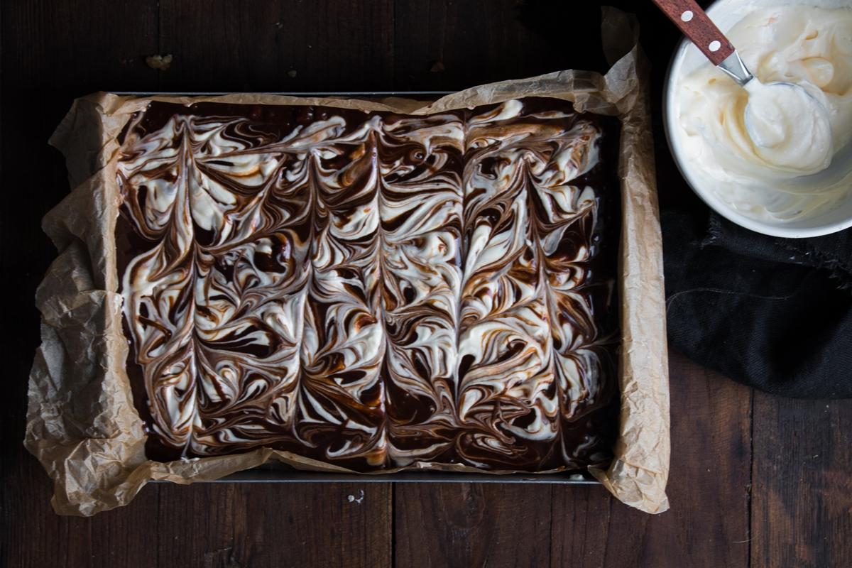Cheesecake Brownies Συνταγές