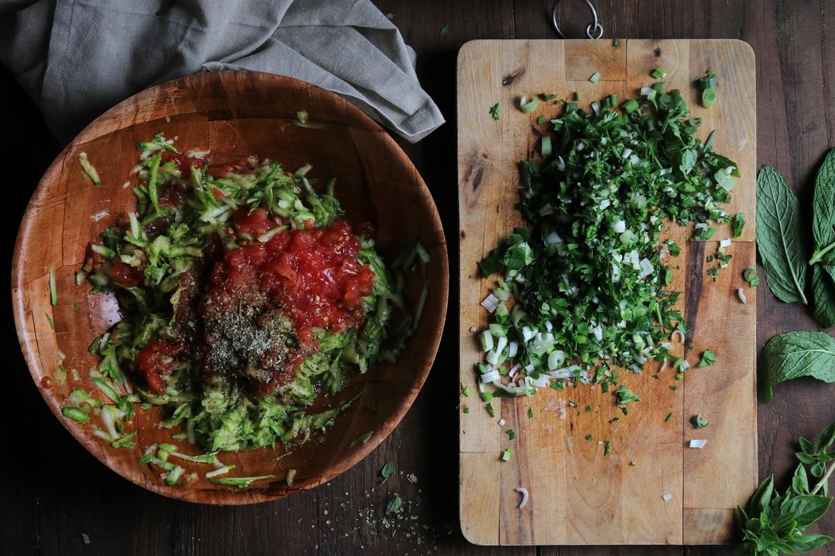 Κολοκυθοκεφτέδες νηστίσιμοι με Ντομάτα Συνταγή