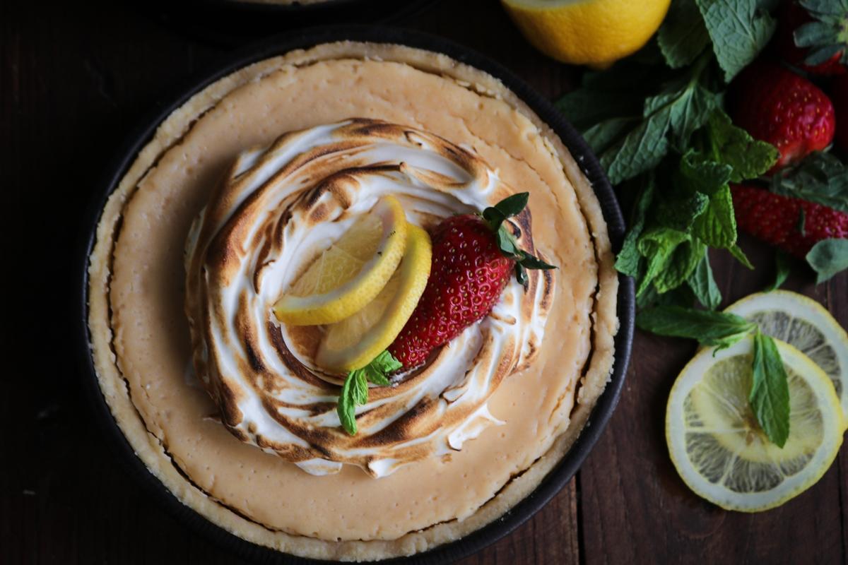 Συνταγές για lemon pie