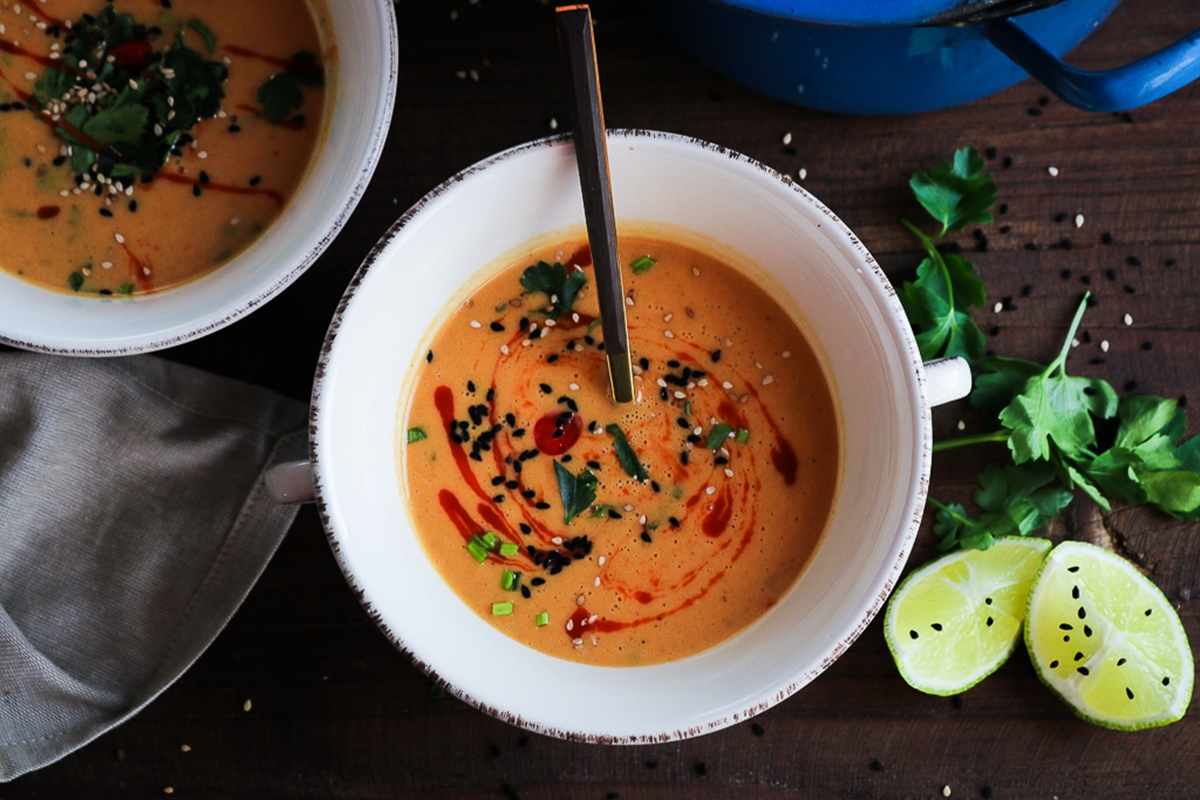 Σούπα με Γλυκοπατάτες Συνταγές