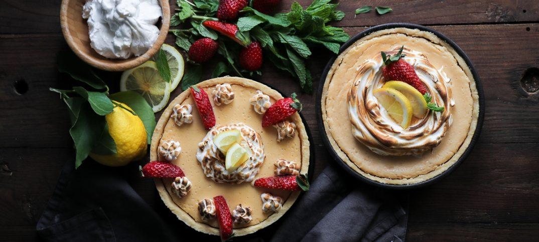 Τάρτα Λεμονιού με Μαρέγκα Lemon Pie