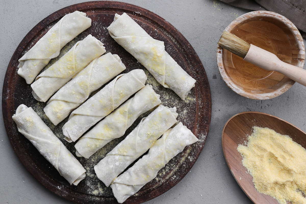 Πως Φτιάχνονται τα Spring Rolls Συνταγή