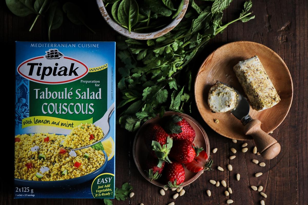 Σαλάτα με Φράουλες και ταμπουλέ Συνταγές