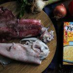 Συνταγές με Καλαμάρια Φρέσκα