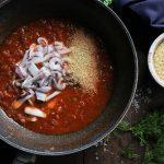 Συνταγή για Γιουβέτσι με Καλαμαράκια