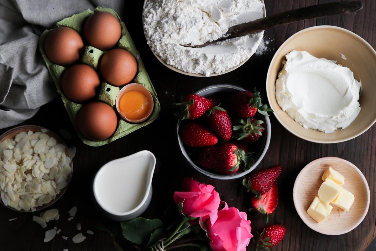 Υλικά για Συνταγή για Κρέπες