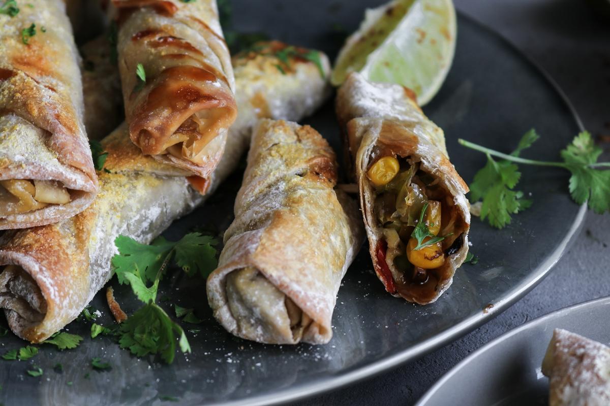 Spring Rolls Συνταγές με Λαχανικά