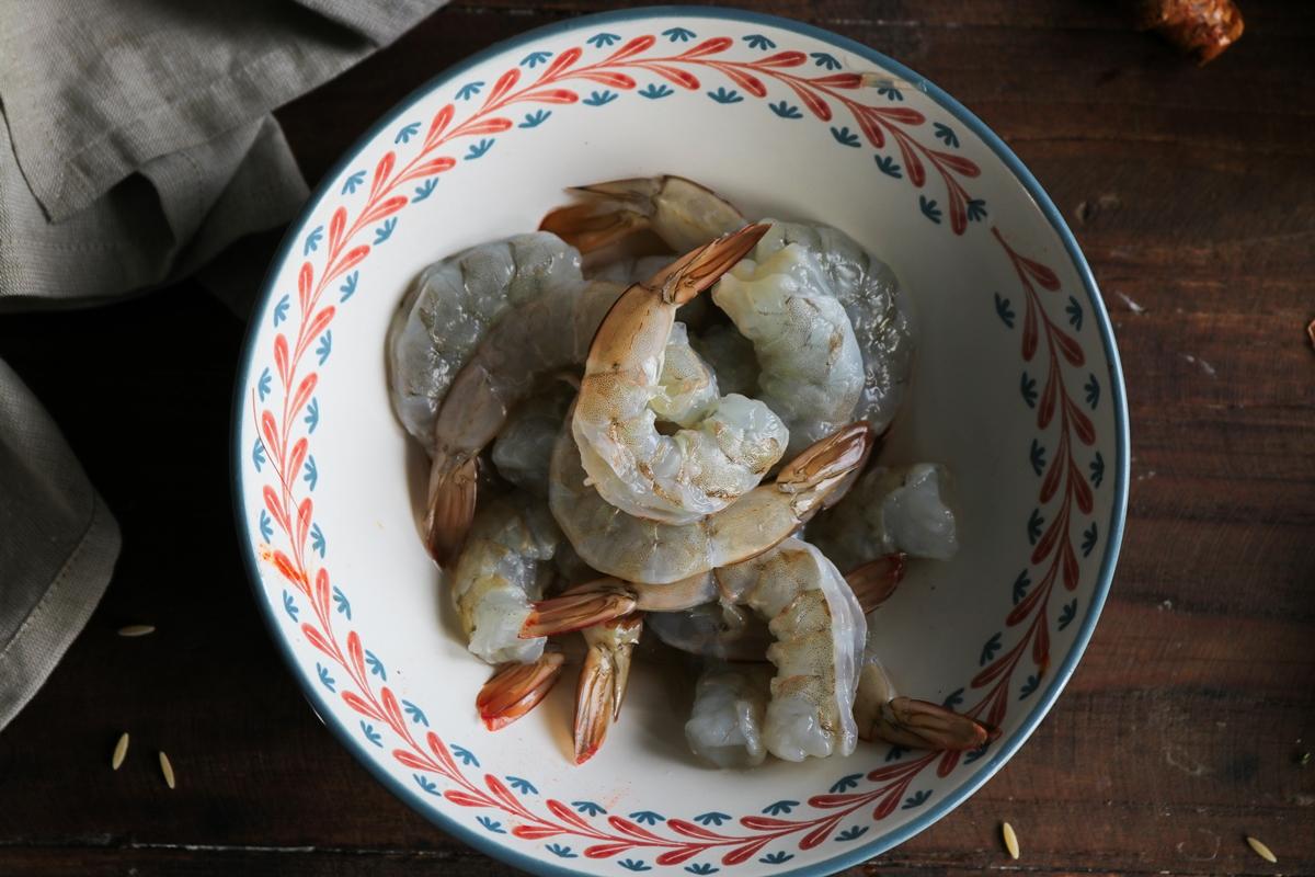Κριθαρότο με Γαρίδες, Φινόκιο και Αρσενικό Νάξου