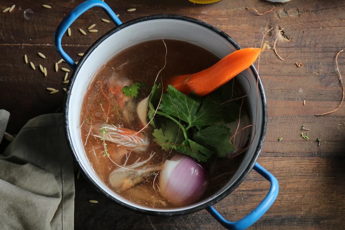 Συνταγές για Ζωμό με Γαρίδες