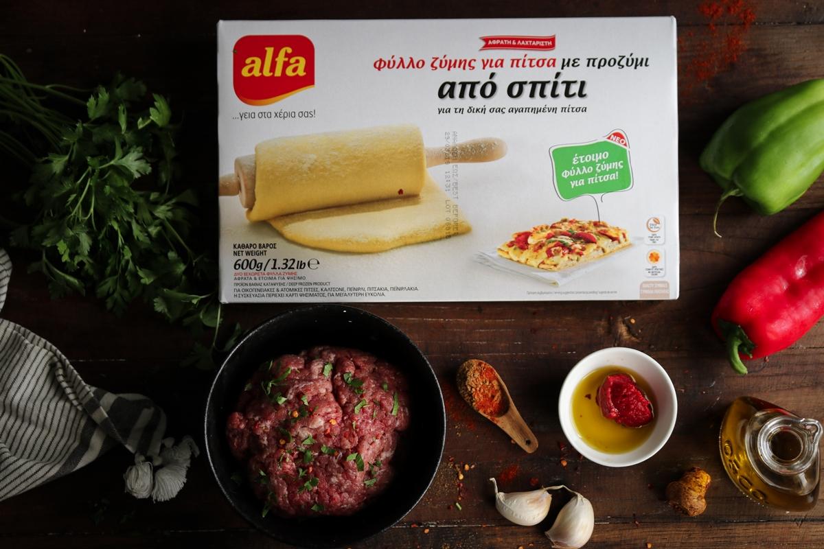 Ζύμη για Πίτσα Συνταγή-Zimi gia pitsa suntagi
