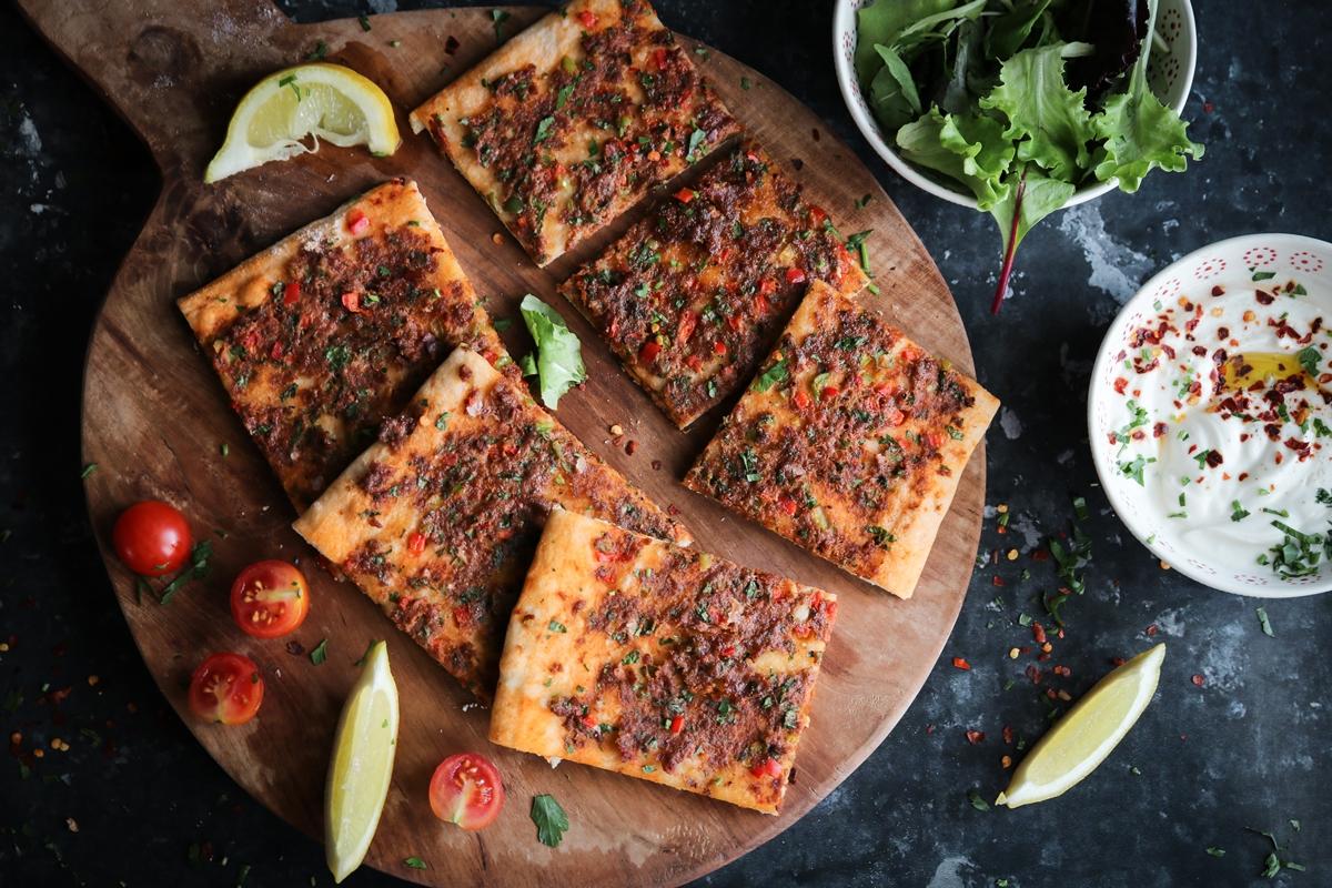 Λαχματζούν Συνταγή-lahmacun recipe