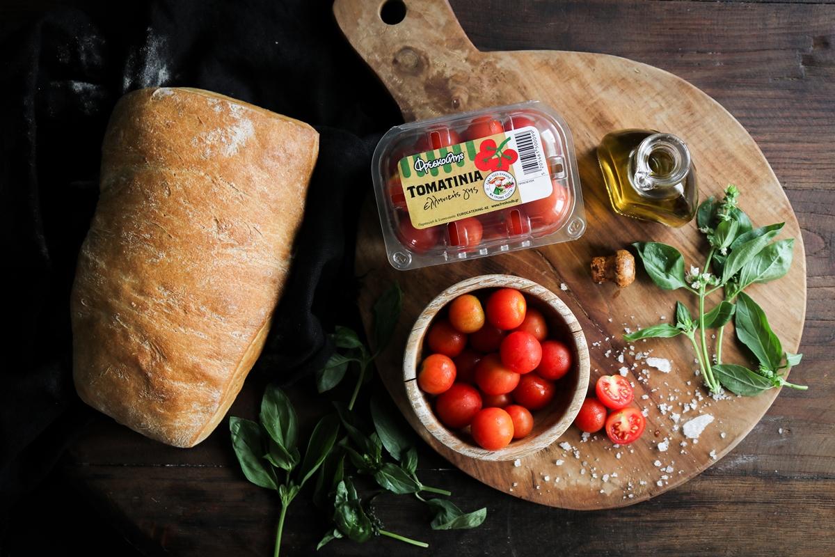 Σαλάτες με Τοματίνια Συνταγές