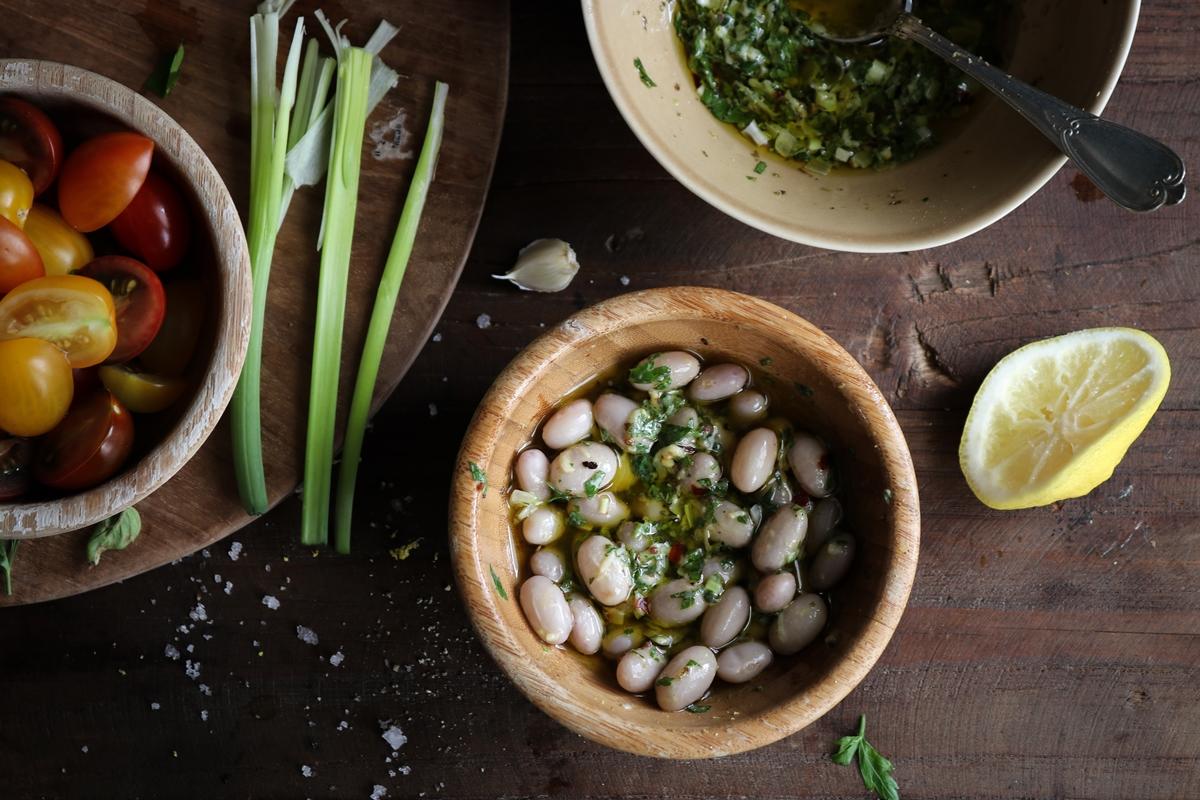 Συνταγή για Φασόλια Χάντρες