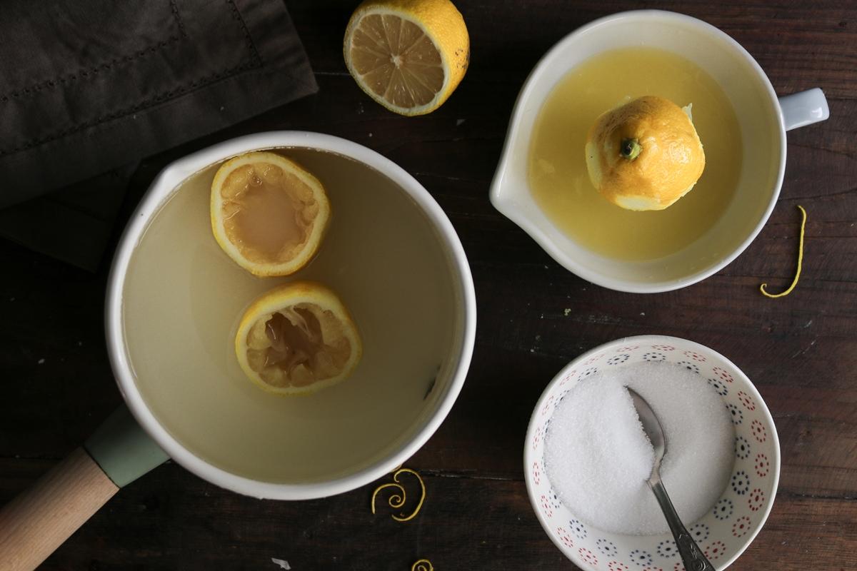 Σιρόπι με Λεμόνι Συνταγές
